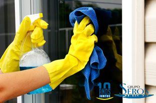 Consejos para limpiar ventanas de aluminio