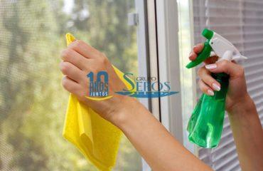 limpieza de cristales en burgos