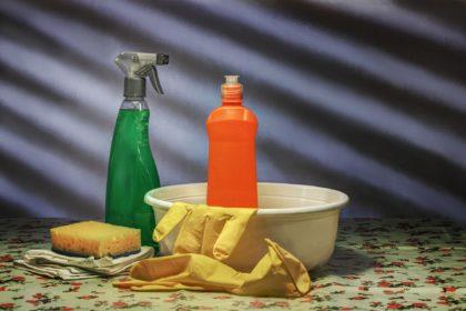 La limpieza general de la casa en Burgos
