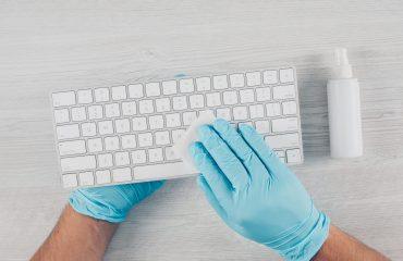 Desinfección de lugar de trabajo tras Covid