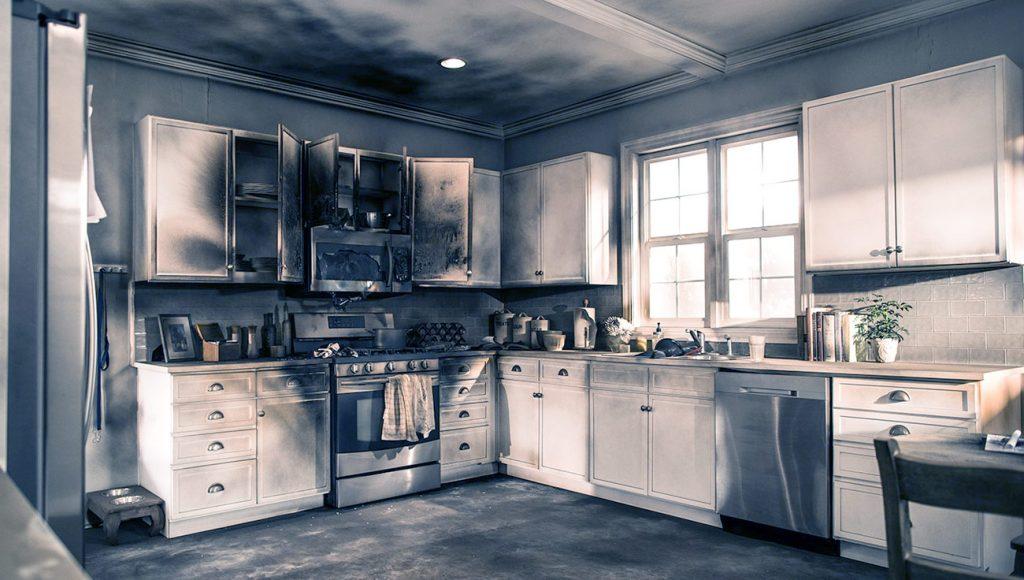 Incendio de cocina